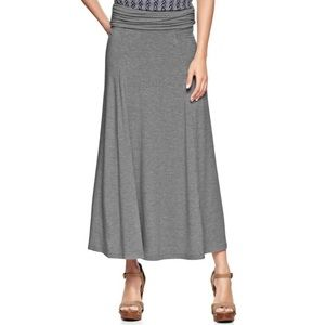 GAP Foldover Maxi Skirt